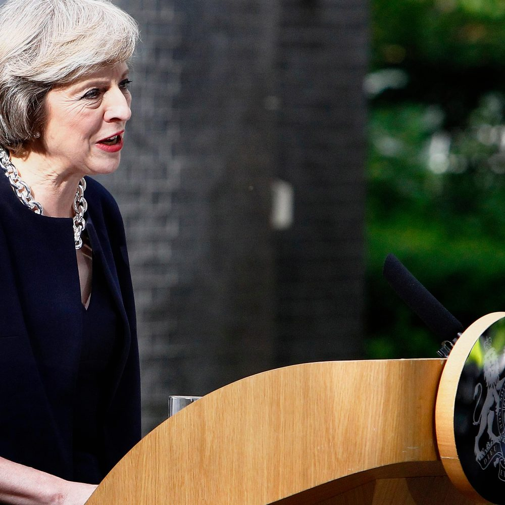 "Is Theresa May a Victim of ""a Whiff"" of Sexism?"
