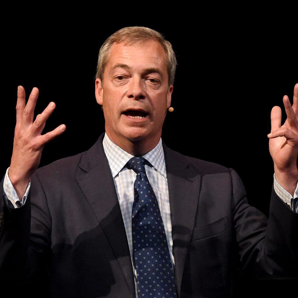 Nigel Farage: Chancer-In-Chief?